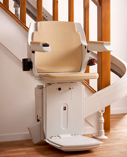 Bison 80 curved stairlift