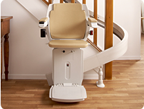 Bison Bede 80 curved stairlift