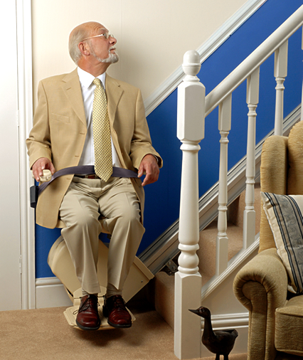 a rented stairlift