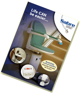Sabre Stairlifts brochure