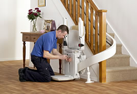 stairlift installation in Leeds